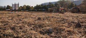 grading debris and demolition bay area