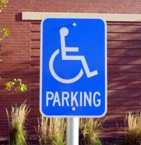 parking lot signage installation